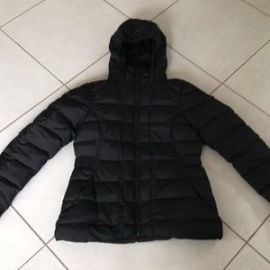 North face women's small black jacket